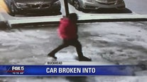 Car break-in on camera