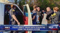 Tag reader helps police nab crook