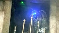Want a nightmare before Christmas? Haunted houses aren't just for Halloween anymore