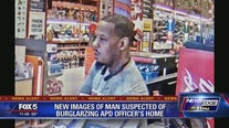 New images of burglary suspect released