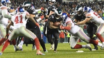 Eli Manning struggles in Giants' 23-17 loss to Eagles