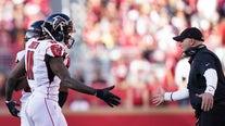 Jones' INT return in OT lifts Falcons over Bucs 28-22