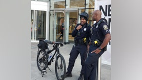 Increased visibility by police in, around jam-packed malls making a difference in crime