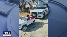 Police pull over little girl in cute Christmas Day Facebook post
