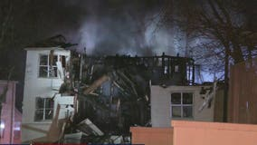 Fire destroys Duluth area apartments, displaces 29 people
