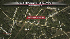Skeletal remains found in Hall County