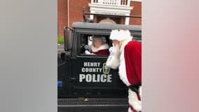 Henry County police officers compete in holiday contest to win forensics equipment