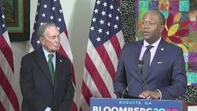 Augusta mayor endorses Bloomberg for president