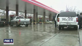 Police: 14 shots fired at man at gas station pump in East Point