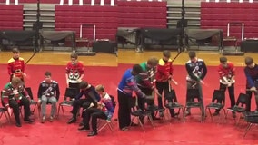 Drumline's incredible performance goes viral and they didn't even use drums