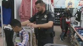 Marietta police hosts annual Shop with a Cop event