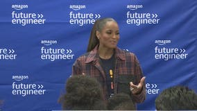 Popstar Ciara surprises Gwinnett County high school class