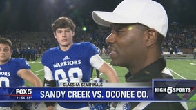 Sandy Creek vs Oconee County – Game of the Week