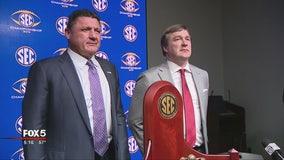 UGA vs LSU in SEC Championship