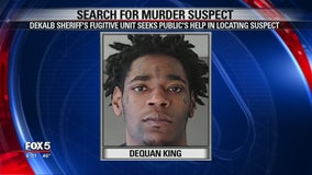 DeKalb County deputies search for 25-year-old murder suspect