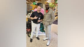 Grammy-winner Q Parker donates to Toys for Tots