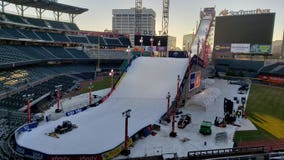 SunTrust Park hosts winter sports competition