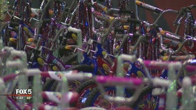 Delta assembles, donates hundreds of bikes to Toys For Tots