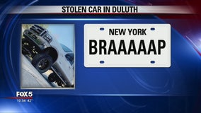 Police search for truck stolen from Duluth apartment complex