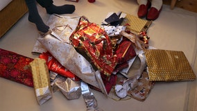 Tips for recycling wrapping paper after the holidays