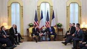 Trump attacks French leader Macron over NATO criticism
