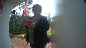 Sandy Springs porch pirate caught on doorbell cam