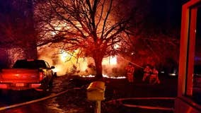 1 transported after injuries in DeKalb County house fire