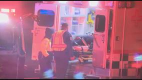 Atlanta police officer taken to hospital after I-75 crash