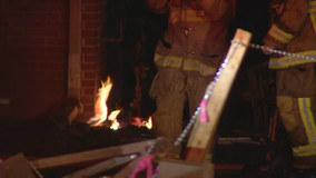 Fire damages DeKalb County Christmas tree business