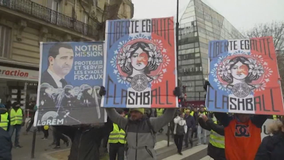 France shuts down: Mass strike hits trains, Eiffel Tower