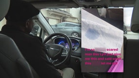 Lyft driver wants to clear his name after rider's 'smell this' warning post