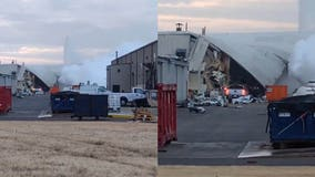 About a dozen hurt in explosion at Beechcraft plant in Kansas