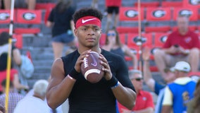 Justin Fields reflects on decision to transfer from UGA to Ohio State