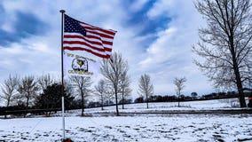 Flag raised near scene of deadly Minnesota National Guard helicopter crash