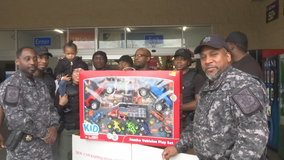 DeKalb County Sheriff's Office collects Toys For Tots donations