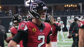 Ryan leads Falcons to another big win over Panthers, 40-20