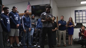 Marietta's Arik Gilbert named Gatorade National Football Player of the Year