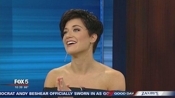 Miss Georgia USA visits Good Day