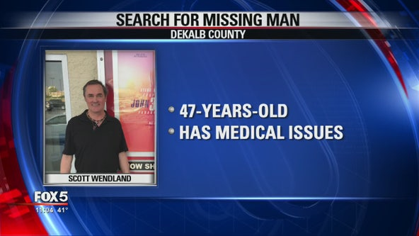 Mattie's Call issued for DeKalb County man with short-term memory problems