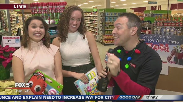 Crawford crew donates Toys for Tots