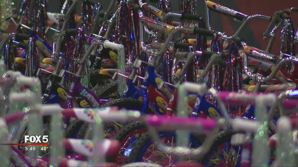 Delta donates bikes to Toys For Tots