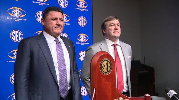 Classic SEC match-up: LSU's offense vs. Georgia's defense