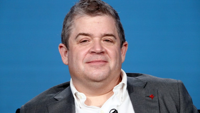 PASADENA, CA - JANUARY 09: Actor Patton Oswalt of 'A.P. Bio' speaks onstage during the NBCUniversal portion of the 2018 Winter Television Critics Association Press Tour at The Langham Huntington, Pasadena on January 9, 2018 in Pasadena, California. (Photo by Frederick M. Brown/Getty Images)