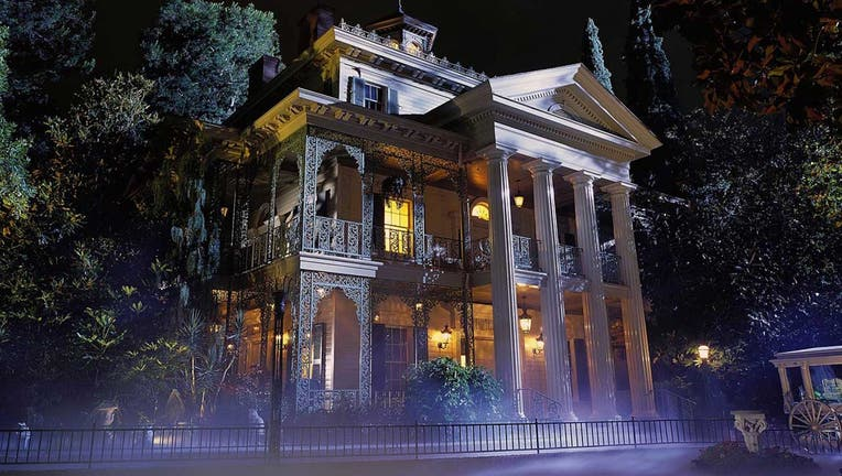 Disneyland has announced plans to temporarily close the Haunted Mansion attraction in early 2020 for an extensive restoration process. (Paul Hiffmeyer/Disneyland)