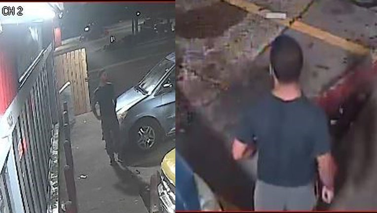 Police are searching for a suspect in the deadly shooting of a 26-year-old man.