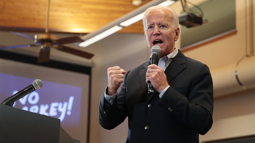 Biden exchanges verbal blows with audience member at Iowa town hall: 'You're a damn liar, man'