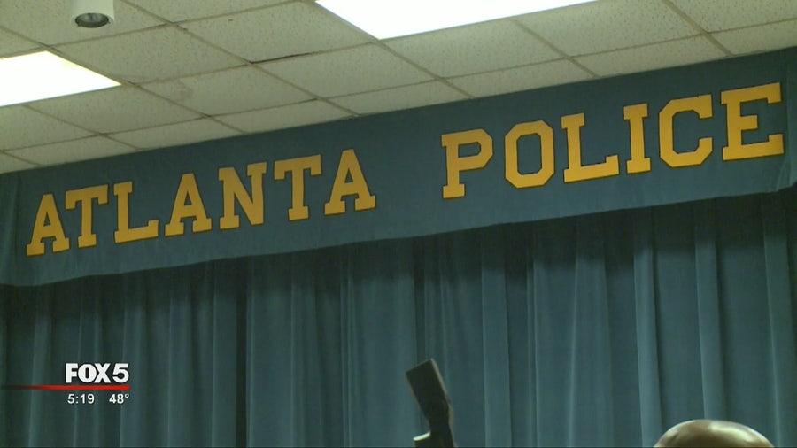 Atlanta City Council members tour Atlanta Police Academy