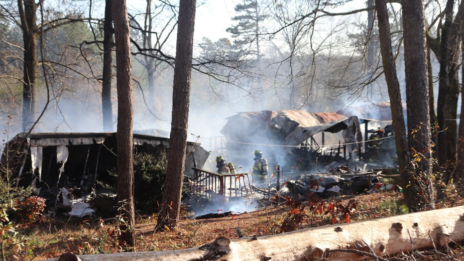 A deadly mobile home fire in Hall County.