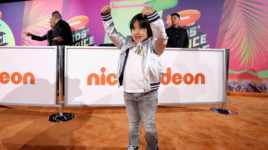Ryan Kaji attends Nickelodeon's 2019 Kids' Choice Awards at Galen Center on March 23, 2019 in Los Angeles, California. (Photo by Rich Fury/Getty Images)