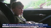 Georgia counties to give out free car seats